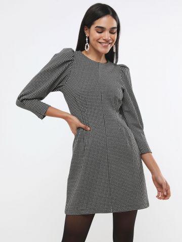 שמלת אריג פפיטה מיני