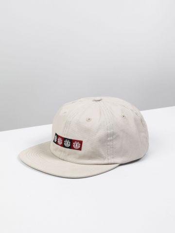 כובע מצחייה עם רקמת לוגו / גברים
