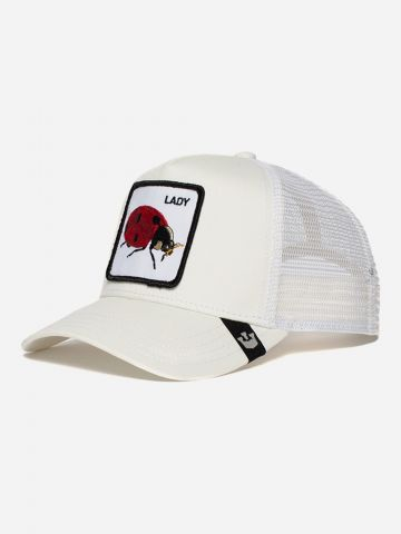 כובע מצחיה עם פאץ' חיפושית / נשים של GOORIN BROS
