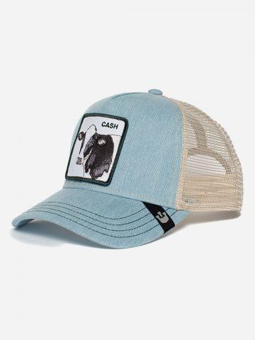 כובע מצחיה עם פאץ' פרה / נשים