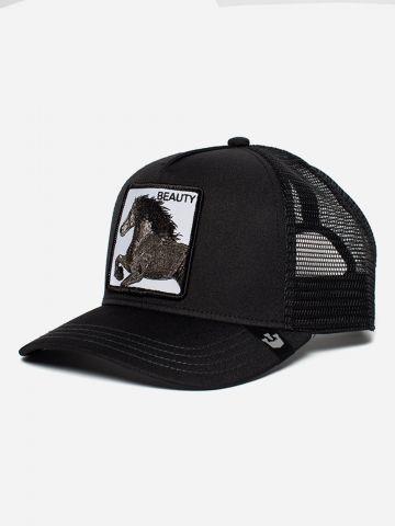 כובע מצחיה עם פאץ' סוס Beauty / גברים