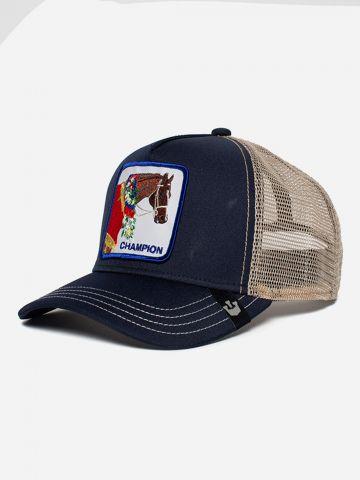 כובע מצחיה עם פאץ' סוס Champion / גברים