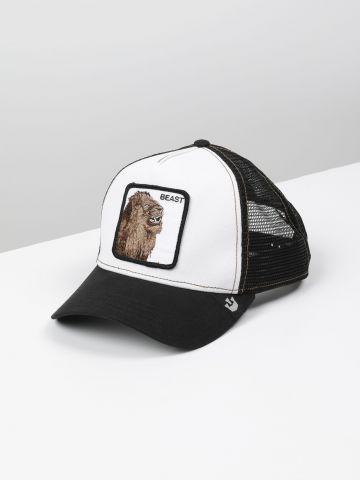 כובע מצחייה עם פאץ' אריה Beast / גברים