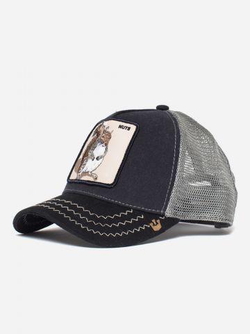 כובע מצחיה עם פאץ' סנאי / נשים