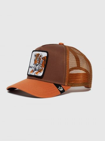 כובע מצחייה עם פאץ' נמר Wild / בנים של GOORIN BROS