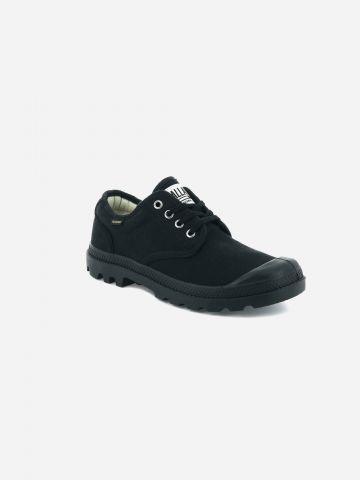 נעלי קנבס עם לוגו Pampa / גברים