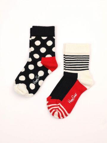 מארז 2 זוגות גרביים בהדפסים שונים / 12M-3Y