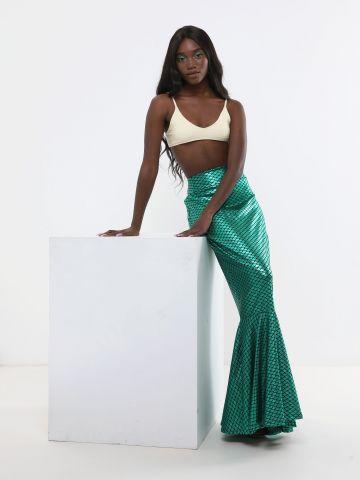 חצאית מקסי פפלום Mermaid / תחפושות לפורים