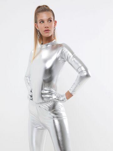 בגד גוף מטאלי אשת חלל / תחפושת לפורים