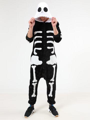 וואנזי שלד Skeleton / גברים / תחפושת לפורים של TERMINAL X