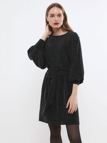 שמלת לורקס מיני עם חגורה