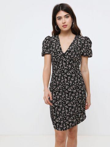 שמלת מיני פרחים
