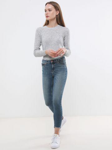 ג'ינס סקיני קרופ Nora