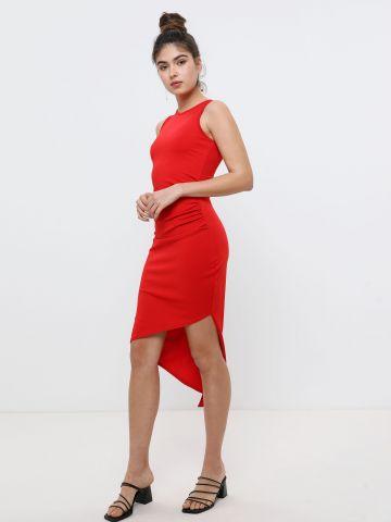 שמלת מידי אסימטרית של TERMINAL X