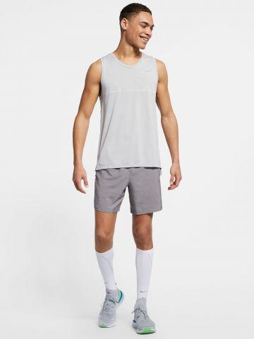 מכנסי ריצה קצרים Dri-Fit  עם פאנלים רשת