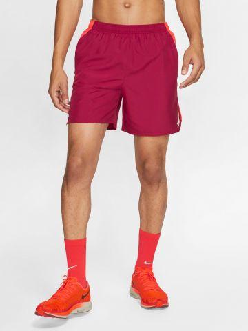 מכנסי ריצה קצרים Dri-Fit עם פאנלים רשת Nike Challenger