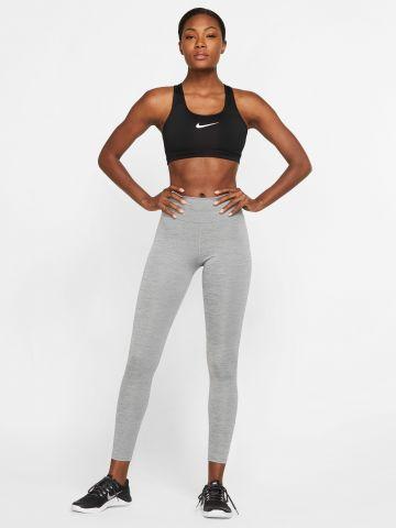 טייץ אימון מלאנז' Dri-Fit עם לוגו Nike ONe