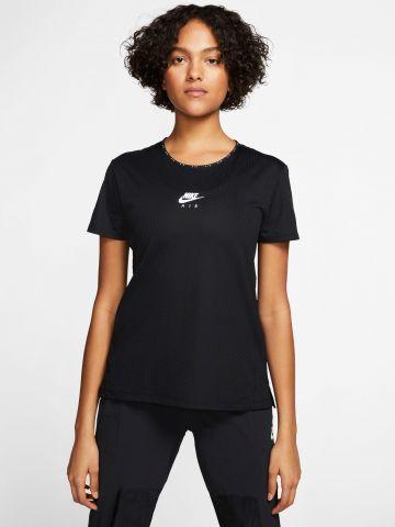 חולצת ריצה Dri-Fit עם לוגו מחזיר אור