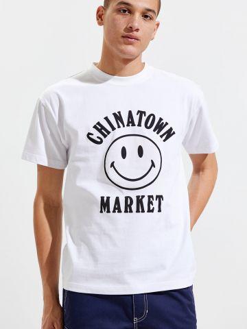 טי שירט סמיילי Chinatown Market X Smiley