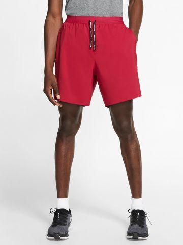 מכנסי ריצה Dri-FIT קצרים עם לוגו Flex Stride