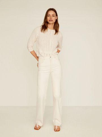 ג'ינס ארוך בגזרה מתרחבת