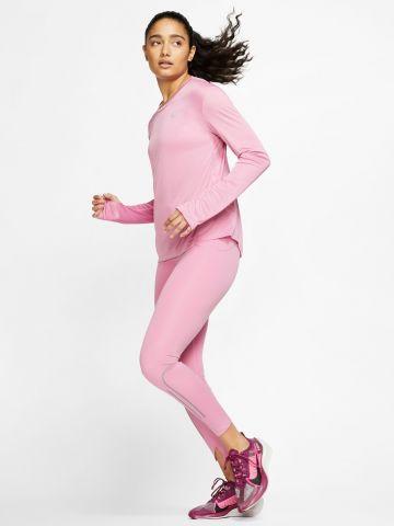 חולצת ריצה עם שרוולים ארוכים Miler Dri-FIT