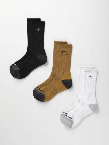 מארז 3 גרביים גבוהים / גברים