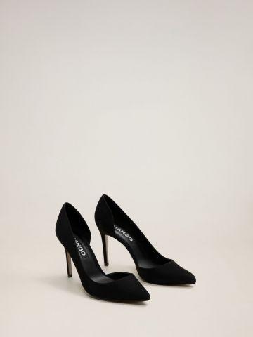 נעלי עקב סטילטו אסימטריות של MANGO