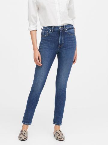 ג'ינס סלים בגזרה גבוהה של BANANA REPUBLIC