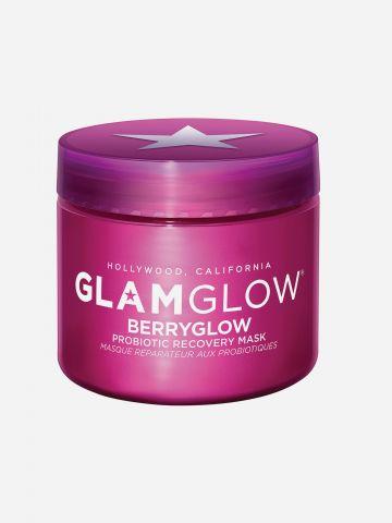 מסכה מועשרת בלחות לשיקום והרגעת העור Berryglow של GLAMGLOW