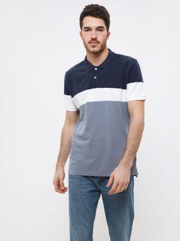 חולצת פולו פסים