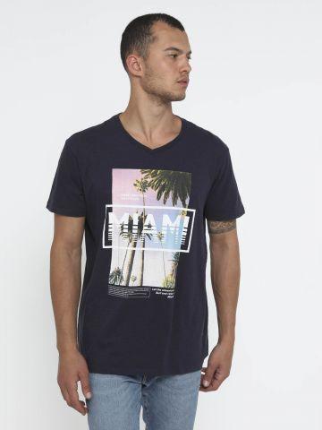 טי שירט עם הדפס תמונה Miami