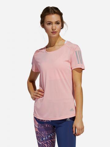 חולצת ריצה בשילוב רשת