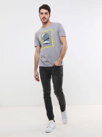 ג'ינס ווש בגזרת סקיני