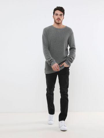 ג'ינס ווש בגזרת סלים
