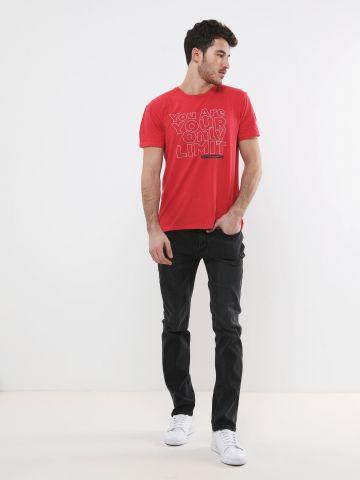 ג'ינס בייסיק עם ווש של FOX