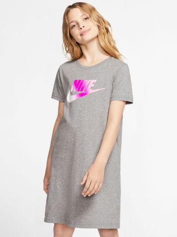 שמלה עם הדפס לוגו