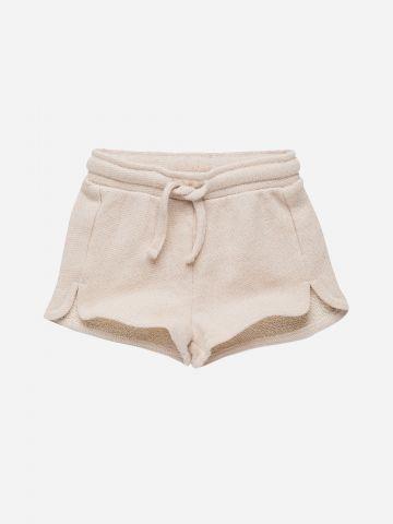 מכנסיים קצרים עם שסעים / 3M-3Y