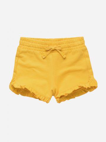 מכנסיים קצרים בשילוב מלמלה / 3M-3Y