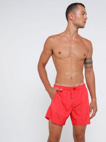מכנסי בגד ים עם לוגו של ARMANI EXCHANGE