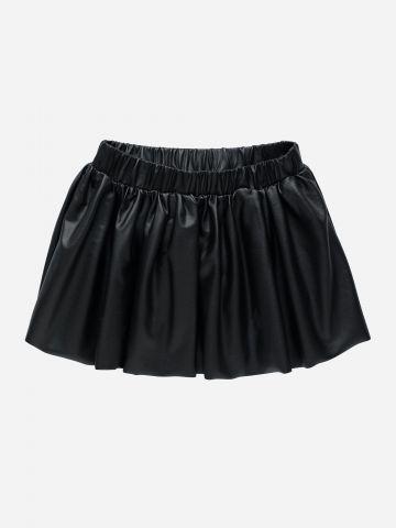חצאית דמוי עור / 3M-3Y