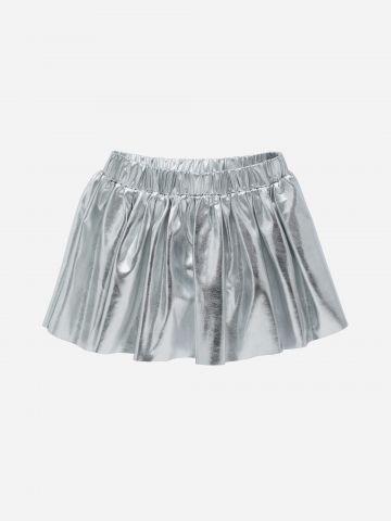 חצאית מיני מטאלית / 3M-3Y של FOX