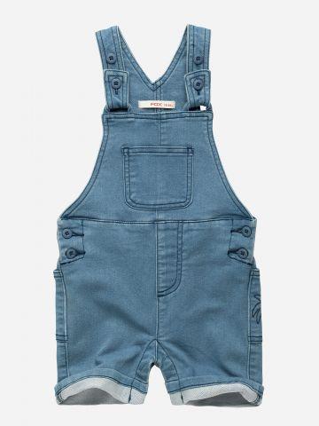 אוברול ג'ינס קצר / 3M-3Y