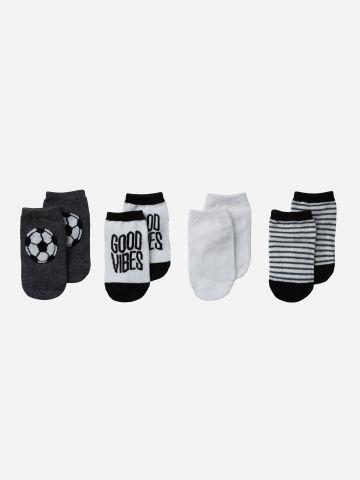 מארז 4 זוגות גרביים / N.B-3Y