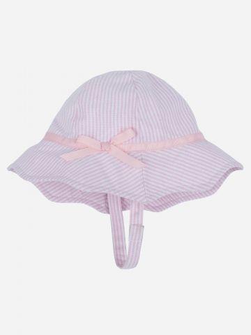 כובע באקט בהדפס פסים / בייבי