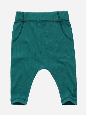 מכנסי טרנינג עם תפרים דקורטיביים / N.B-2Y