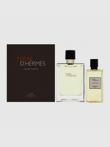 מארז בושם וסבון גוף לגבר Terre D'Hermes