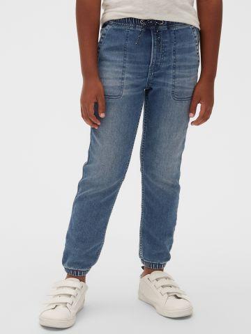 ג'ינס ארוך עם גומי / בנים
