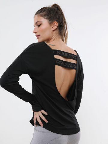 חולצת אימון Dri-FIT עם סטריפים לוגו