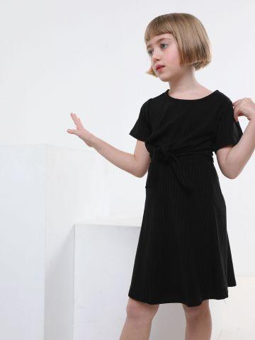 שמלת ריב עם אלמנט קשירה